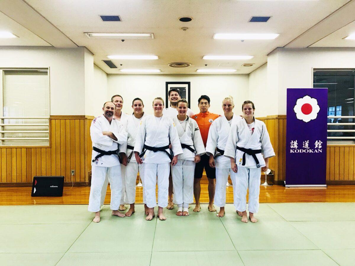 オランダ柔道ナショナルチームの専属トレーナー