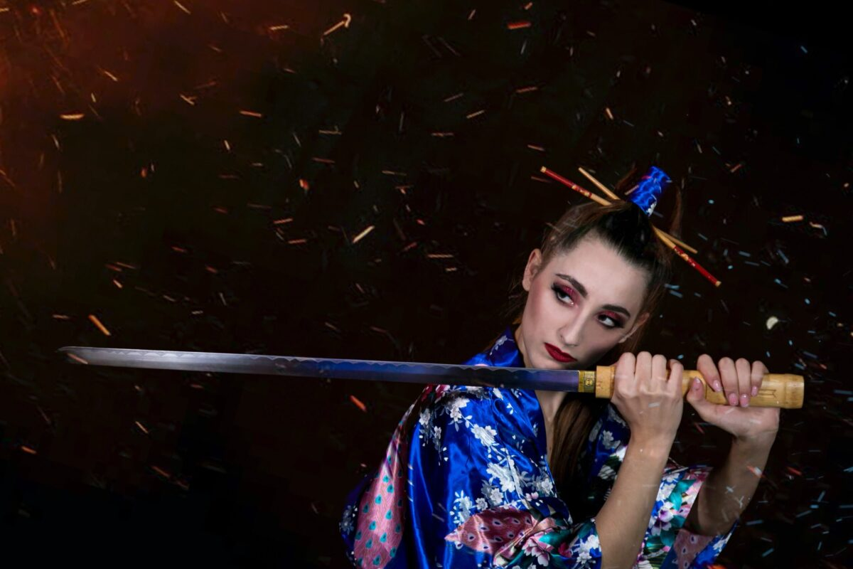刀の美しさと健康の美しさ